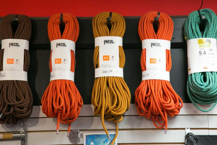 Petzl ropes