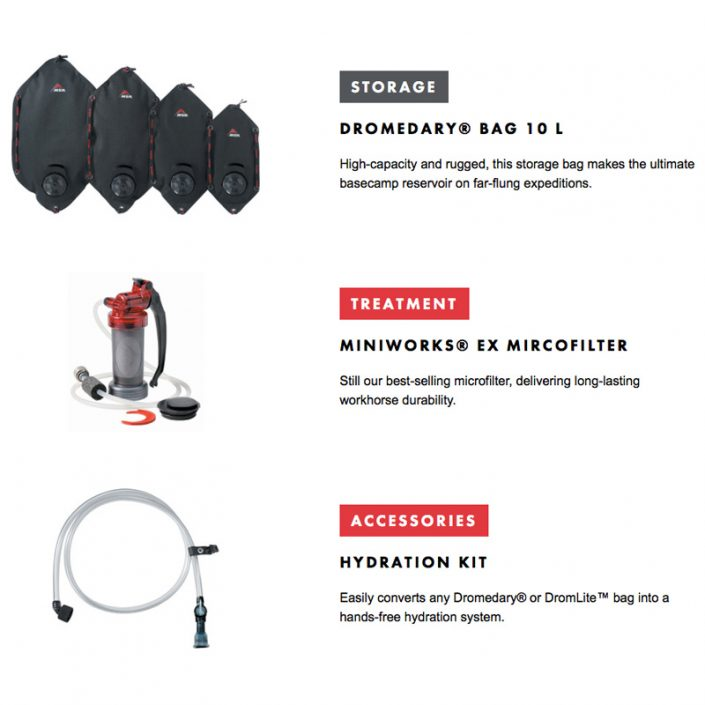 MSR hydration and filtration