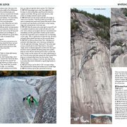 North Conway Rock Climbs guidebook excerpt - Standard on Whitehorse Ledge
